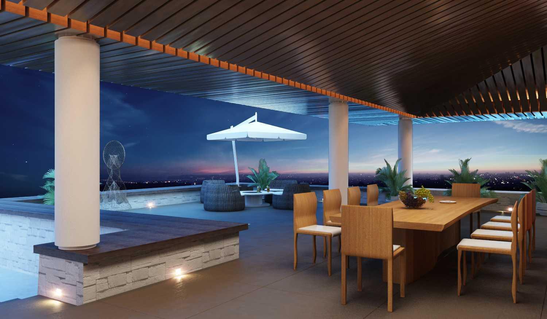 Foto inspirasi ide desain kolam industrial Poolside-c1 oleh Saka Design Lab di Arsitag