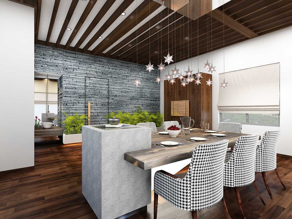 Saka Design Lab Private Residential _ 2 Dhanori Lohagaon Rd, Kutwal Colony, Lohgaon, Pune, Maharashtra 412105, India India Am-Dinning-Area-C1 Modern 34984