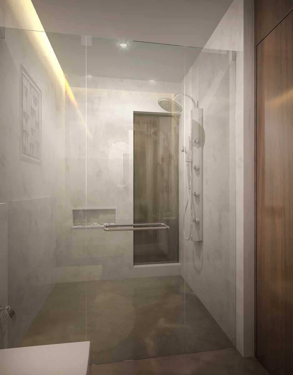 Foto inspirasi ide desain kamar mandi minimalis Daughters-toilet-cam-01 oleh Saka Design Lab di Arsitag