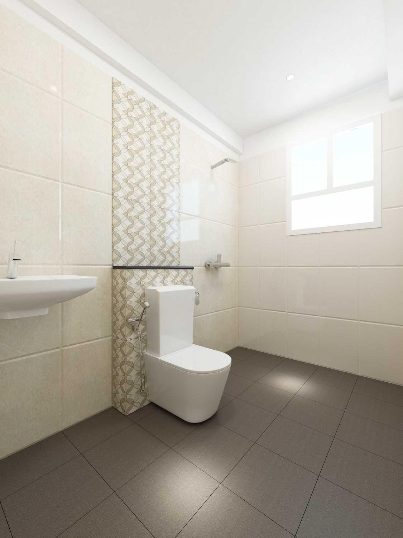 Foto inspirasi ide desain kamar mandi minimalis Toilet-2 oleh Saka Design Lab di Arsitag