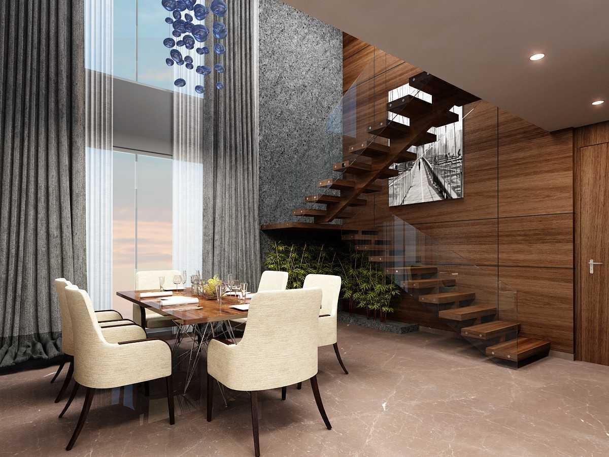 Foto inspirasi ide desain apartemen C4 oleh Saka Design Lab di Arsitag