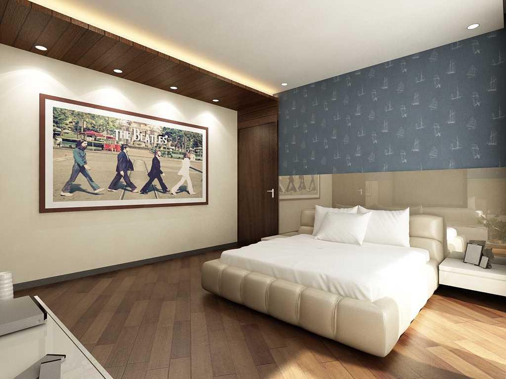 Saka Design Lab Private Residential_Freelance India India Guest-Bed-C2 Modern,kontemporer 35437