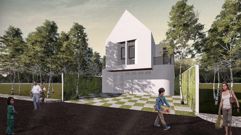 Km0Studio Rumah Pasarminggu Pasar Minggu, South Jakarta City, Jakarta, Indonesia Pasar Minggu, South Jakarta City, Jakarta, Indonesia 01 Tropis,modern 31499