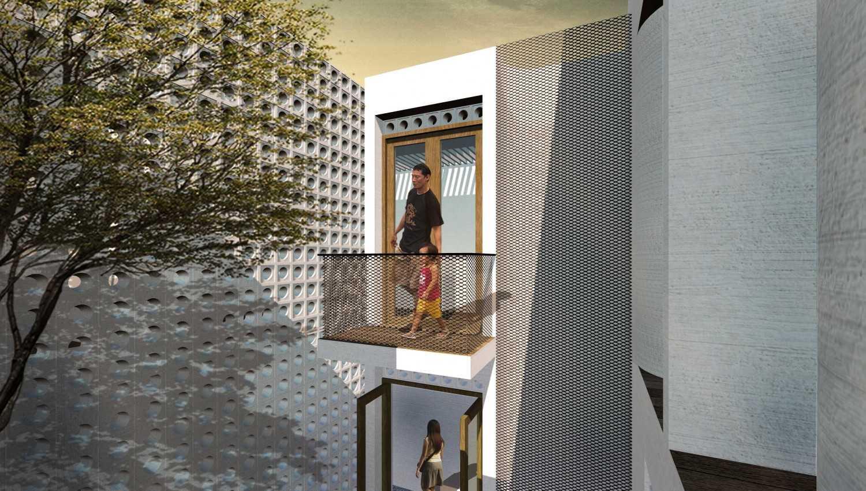 Km0Studio Rumah Pasarminggu Pasar Minggu, South Jakarta City, Jakarta, Indonesia Pasar Minggu, South Jakarta City, Jakarta, Indonesia 03 Tropis,modern 31501