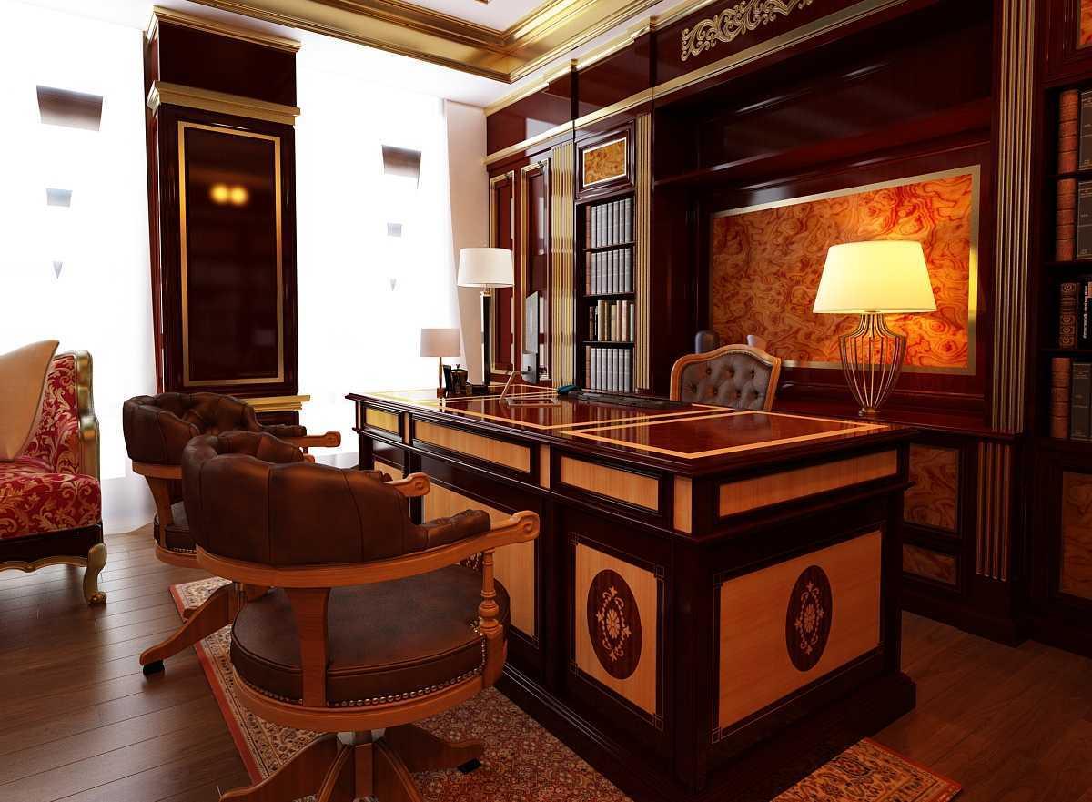 3D Architects Gemati Patchwork Karawaci, Kota Tangerang, Banten, Indonesia Karawaci, Kota Tangerang, Banten, Indonesia Working-Room - Classic Style Classic 42335