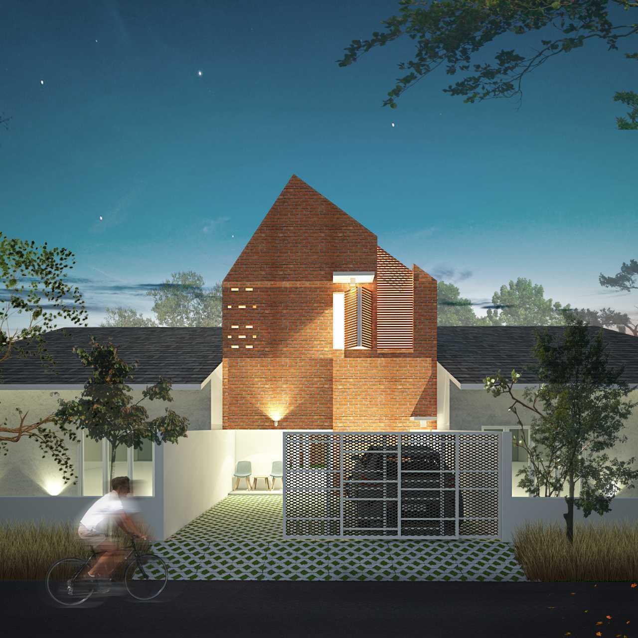 Sekala 6X15 House Kota Sby, Jawa Timur, Indonesia Kota Sby, Jawa Timur, Indonesia Front View Rendering Modern 38239
