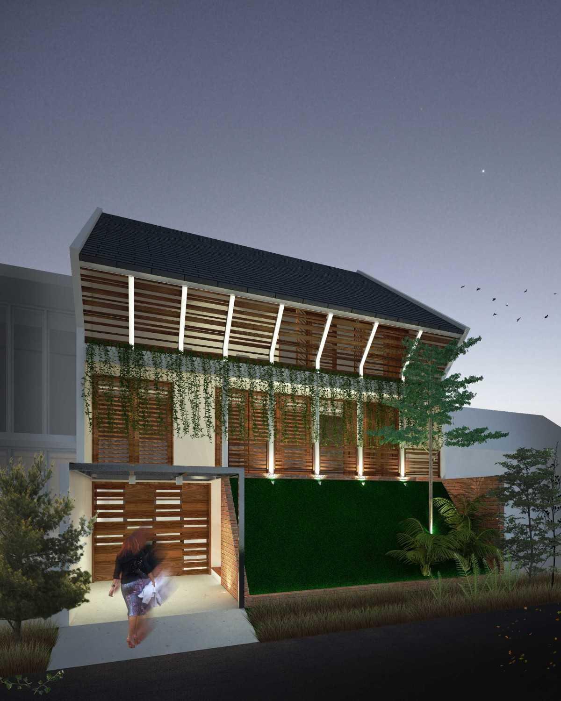 Sekala Tropical House Surabaya, Kota Sby, Jawa Timur, Indonesia Surabaya, Kota Sby, Jawa Timur, Indonesia Facade Tropical,tropis 39582