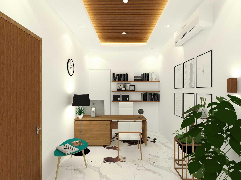 Sekala Interior Rumah Pondok Tjandra Surabaya, Kota Sby, Jawa Timur, Indonesia Surabaya, Kota Sby, Jawa Timur, Indonesia Working Area Scandinavian 47283