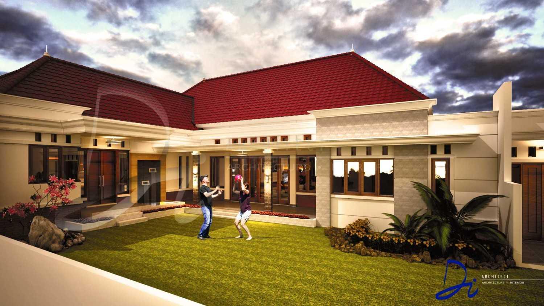 Di Architect Rumah Tinggal Modern Classic Jawa Tengah, Indonesia Jawa Tengah, Indonesia Rumah Tinggal Modern Classic - Back View Modern 44520