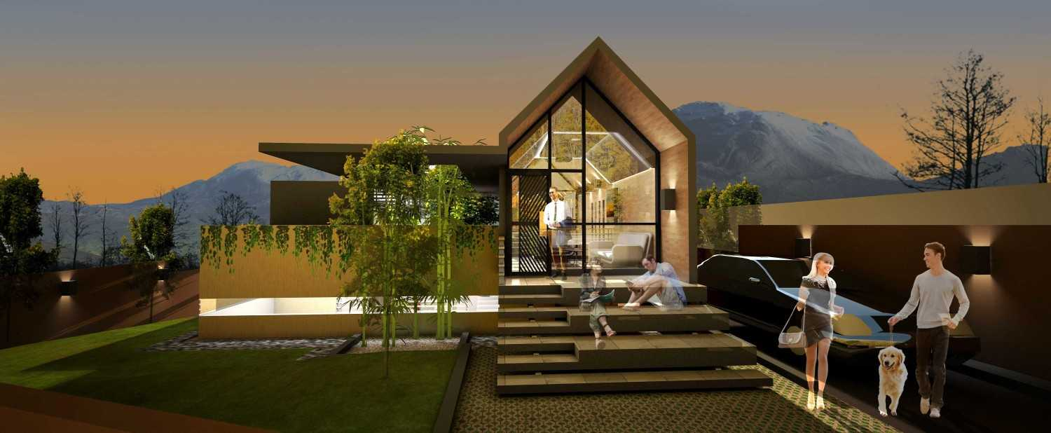 Marco Martinez The Looper Residence Lembang, West Bandung Regency, West Java, Indonesia  Front Perspective  32195