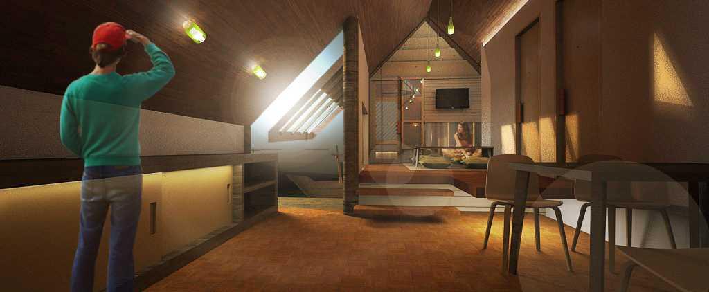 Foto inspirasi ide desain ruang keluarga tradisional Living room oleh Marco Martinez di Arsitag