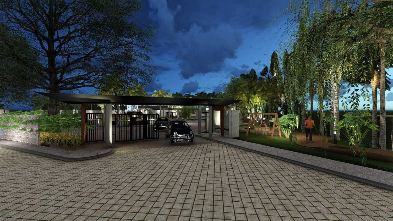 Foto inspirasi ide desain pintu masuk tropis 114 oleh Samitrayasa Design di Arsitag