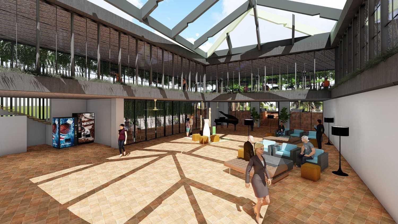 Foto inspirasi ide desain gym tropis 7 oleh Samitrayasa Design di Arsitag