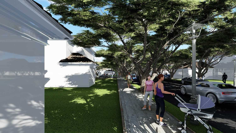 Samitrayasa Design Premium Housing & Private Community Park Bogor, Jawa Barat, Indonesia Bogor, Jawa Barat, Indonesia Walkway Tropical,tropis 39044