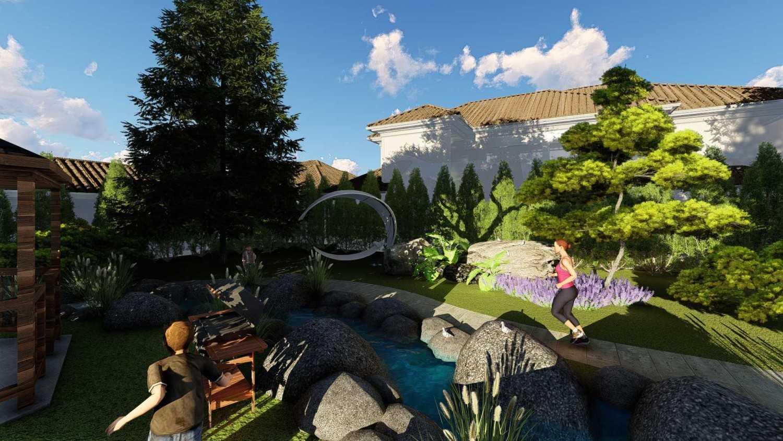 Samitrayasa Design Premium Housing & Private Community Park Bogor, Jawa Barat, Indonesia Bogor, Jawa Barat, Indonesia Jogging Area & Small River Tropical,tropis 39051