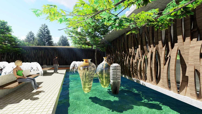 Samitrayasa Design Club House & Driving Range Bogor, Jawa Barat, Indonesia Bogor, Jawa Barat, Indonesia Main Garden Tropical,tropis 39056