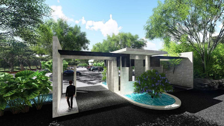 Samitrayasa Design Club House & Driving Range Bogor, Jawa Barat, Indonesia Bogor, Jawa Barat, Indonesia Main Gate Tropical,tropis 39063