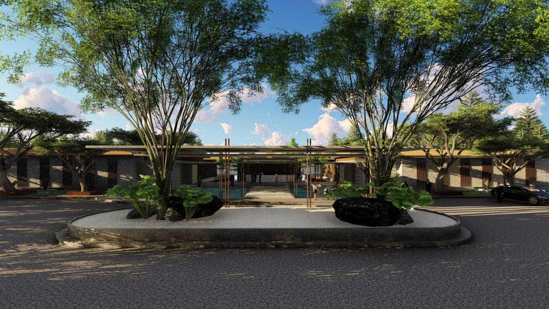 Samitrayasa Design Club House & Driving Range Bogor, Jawa Barat, Indonesia Bogor, Jawa Barat, Indonesia Main Drop Off & Lobby Tropical,tropis 39076