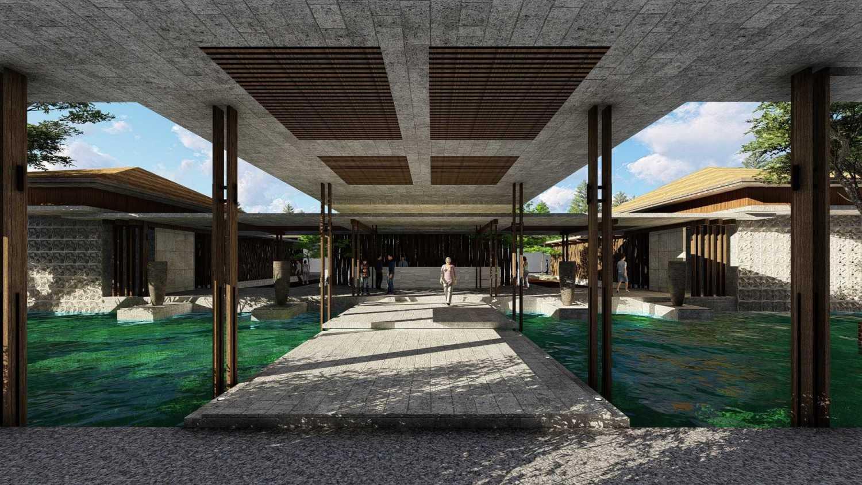Samitrayasa Design Club House & Driving Range Bogor, Jawa Barat, Indonesia Bogor, Jawa Barat, Indonesia Main Lobby Tropical,tropis 39077