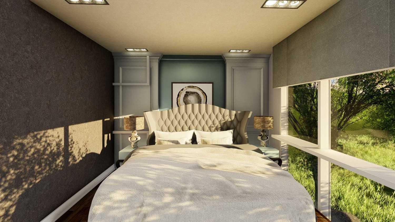 Foto inspirasi ide desain kamar tidur anak kontemporer Second bedroom oleh Samitrayasa Design di Arsitag