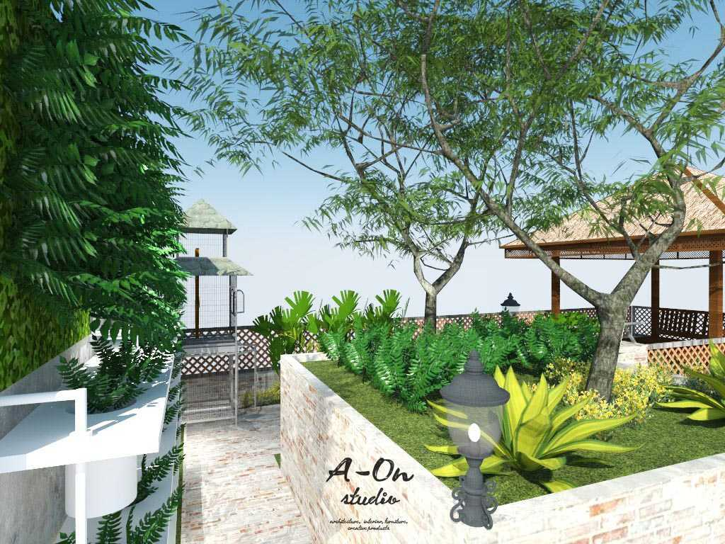 Foto inspirasi ide desain atap tropis Revrooftopa221216 oleh A-ON Studio di Arsitag