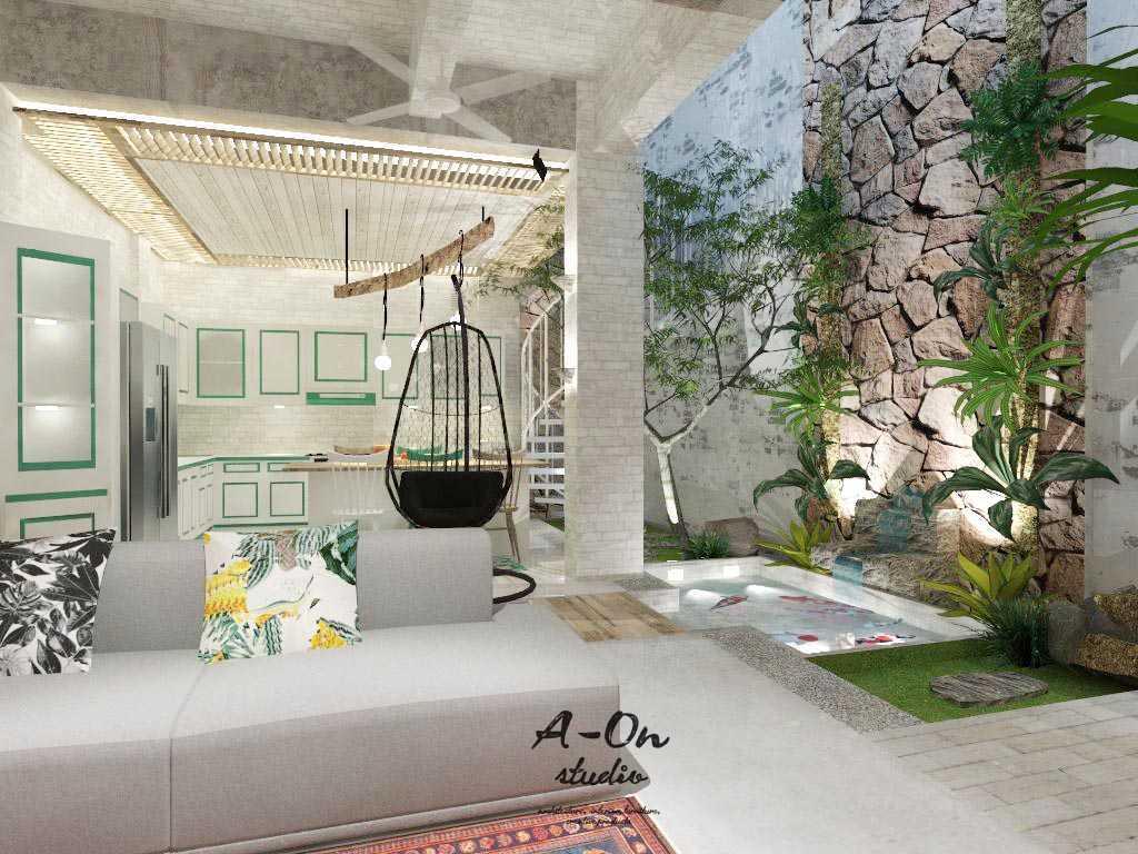 A-On Studio House Of Azwar Setiabudi, South Jakarta City, Jakarta, Indonesia Setiabudi, South Jakarta City, Jakarta, Indonesia Rev3Ltd230117 Tropis,modern 34731