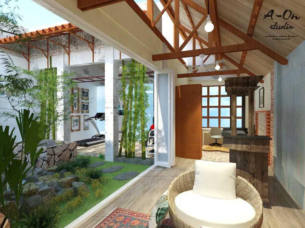 A-On Studio House Of Azwar Setiabudi, South Jakarta City, Jakarta, Indonesia Setiabudi, South Jakarta City, Jakarta, Indonesia Rev3Lt3B230117 Tropis,modern 34732