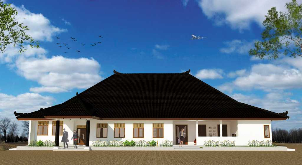 Pasteur Design Studio Project Gedung Utama Dinas Sosial Cirebon Cirebon, Cirebon City, West Java, Indonesia  Perspektif-2 Tradisional 34782