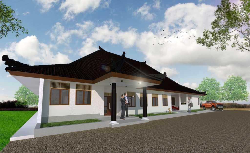 Pasteur Design Studio Project Gedung Utama Dinas Sosial Cirebon Cirebon, Cirebon City, West Java, Indonesia  Perspektif-2 Tradisional 34783
