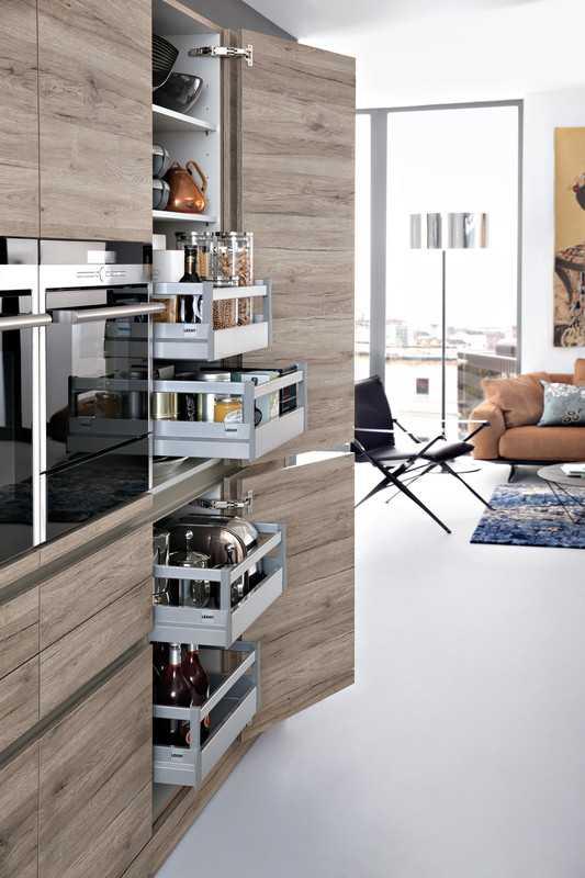 Jasa Design and Build Leicht Kitchen di Bogor