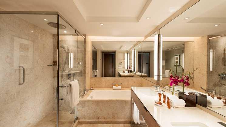 Studio Dinding Conrad Singapura Singapura Bathroom Kontemporer 39639