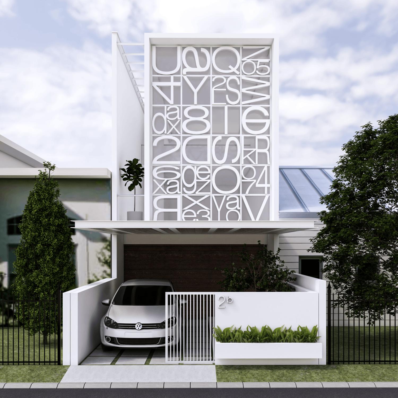 .interval .house At Kopo Bandung, Kota Bandung, Jawa Barat, Indonesia Tasikmalaya, Jawa Barat, Indonesia Rumah-Huruf-3 Minimalis,modern 36568