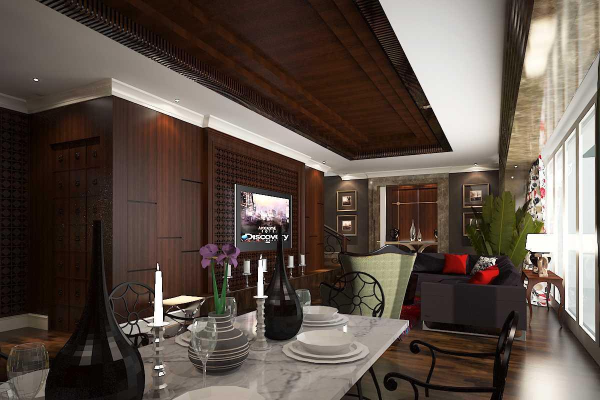 Foto inspirasi ide desain ruang makan klasik Living-pav1 oleh A N J A R S I T E K di Arsitag