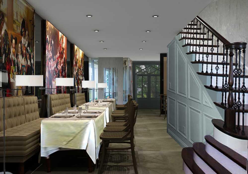 Foto inspirasi ide desain restoran skandinavia Gf-view-1 oleh A N J A R S I T E K di Arsitag