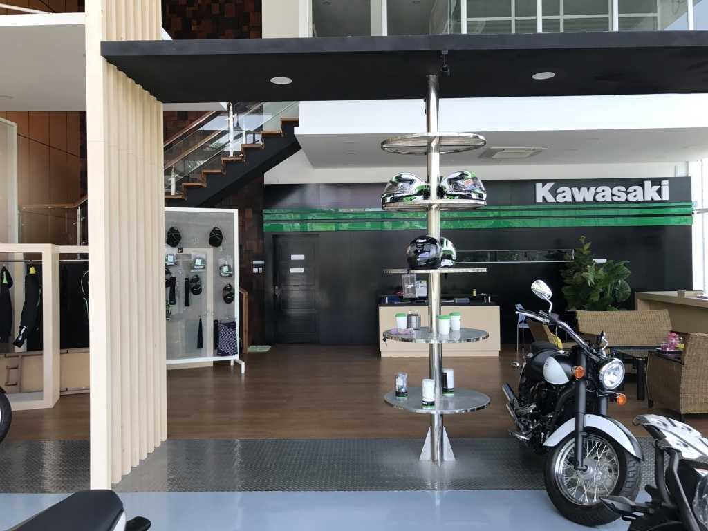 Ardea Architects Kawasaki Showroom - Umg Mandalay, Myanmar (Burma) Mandalay, Myanmar (Burma) Display Area Modern 40449