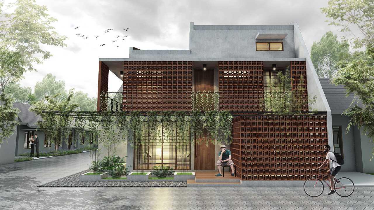 Ardea Architects Rp House Kota Semarang, Jawa Tengah, Indonesia Kota Semarang, Jawa Tengah, Indonesia Rp House - Front View  41441