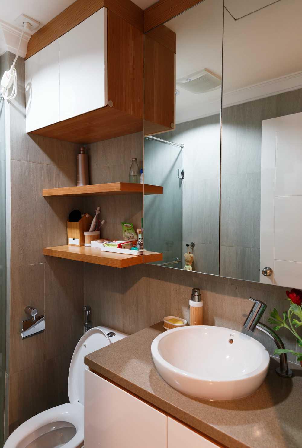 Foto inspirasi ide desain kamar mandi skandinavia Img3807 oleh ARTE Living di Arsitag