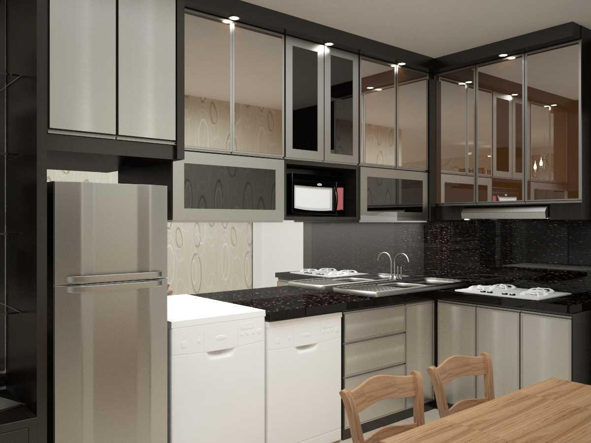 Foto inspirasi ide desain dapur minimalis Kitchen room oleh Rut lanty di Arsitag