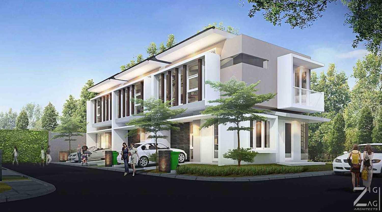 Zigzag Architecture Studio Kedaung Townhouse Kota Tgr. Sel., Kota Tangerang Selatan, Banten, Indonesia Kota Tgr. Sel., Kota Tangerang Selatan, Banten, Indonesia 1  37095