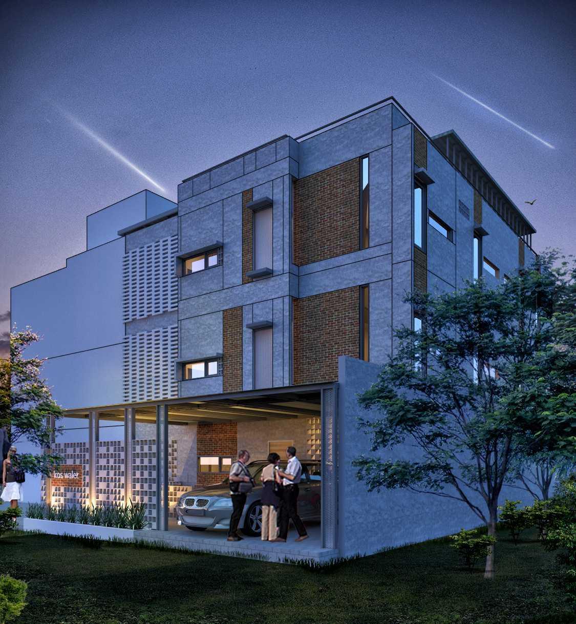 Zigzag Architecture Studio Kos-Kosan Ui Depok, Kota Depok, Jawa Barat, Indonesia Depok, Kota Depok, Jawa Barat, Indonesia Koskosanview2 Modern 37069