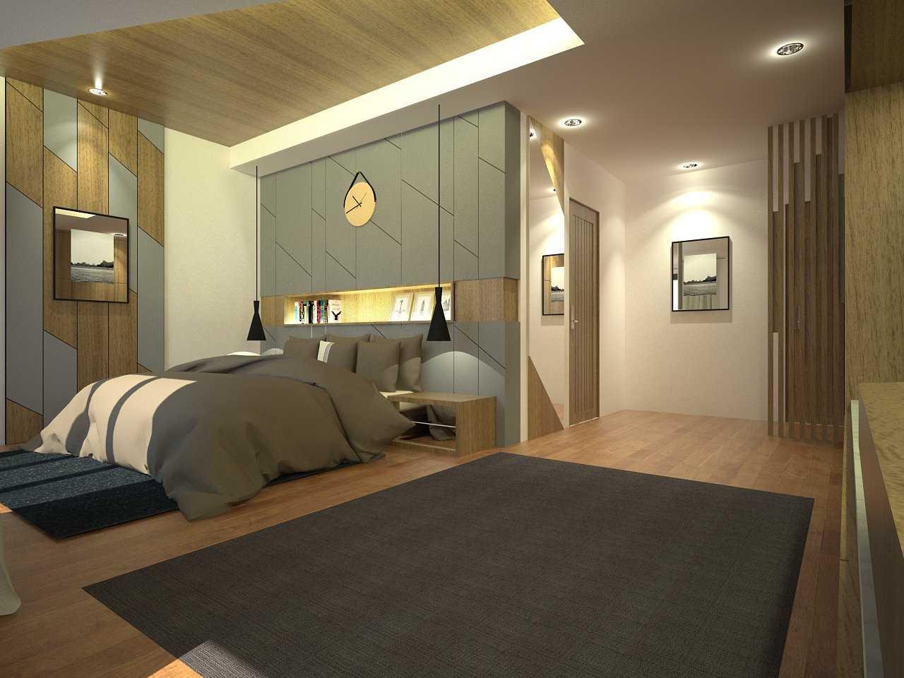 Zigzag Architecture Studio Pulomas House Daerah Khusus Ibukota Jakarta, Indonesia  Masterbed-R2-View01  37598