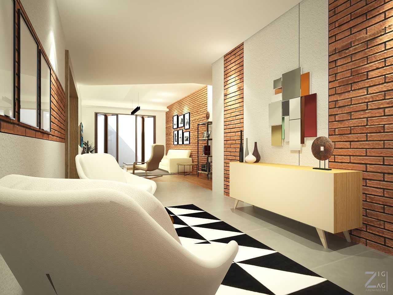 Zigzag Architecture Studio Pulomas House Daerah Khusus Ibukota Jakarta, Indonesia  Guestarea-View01  37604