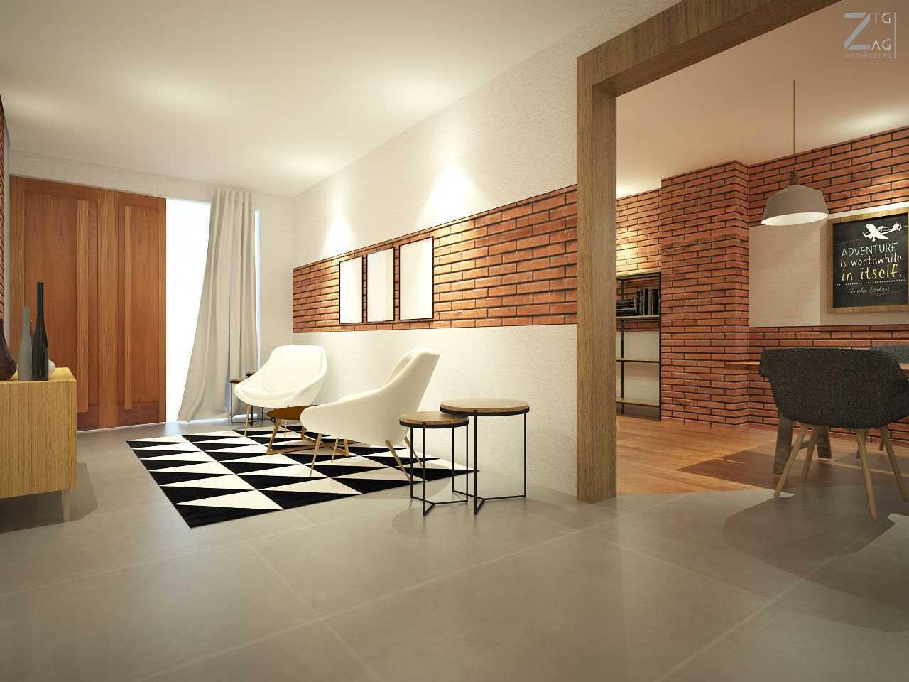 Zigzag Architecture Studio Pulomas House Daerah Khusus Ibukota Jakarta, Indonesia  Guestarea-View02  37605