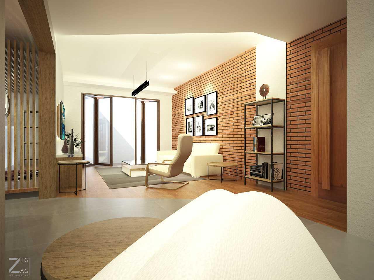Zigzag Architecture Studio Pulomas House Daerah Khusus Ibukota Jakarta, Indonesia  Living-Room-View02  37607