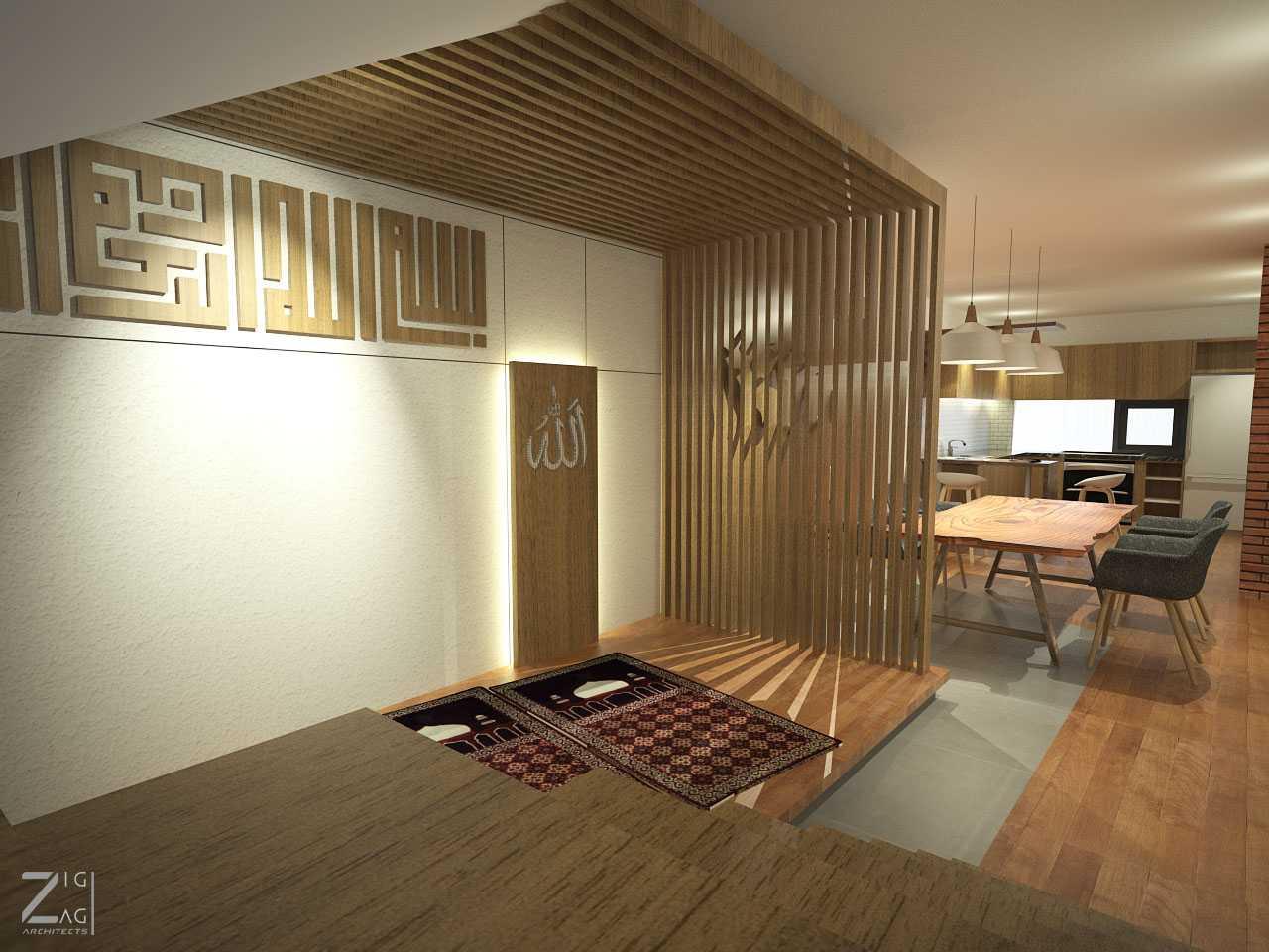Zigzag Architecture Studio Pulomas House Daerah Khusus Ibukota Jakarta, Indonesia  Mushollaview01  37608