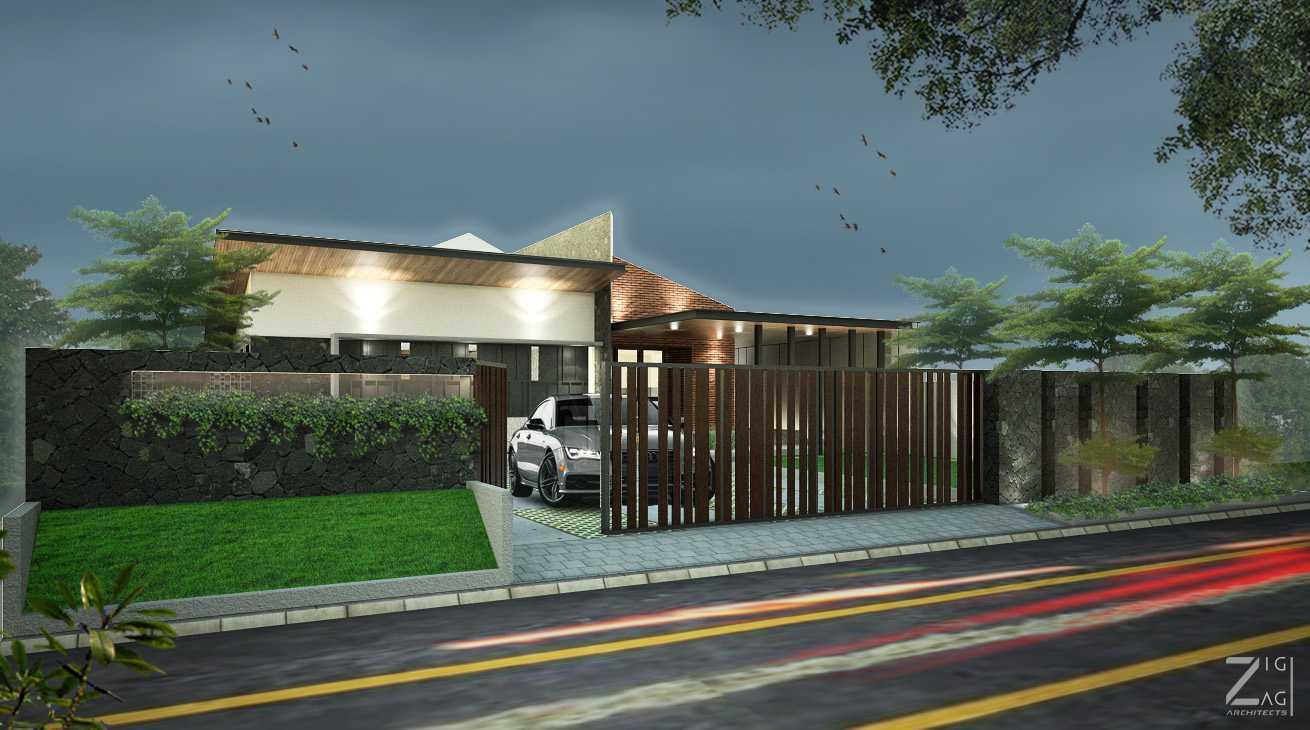 Zigzag Architecture Studio D House - Pekanbaru Pekanbaru, Kota Pekanbaru, Riau, Indonesia Pekanbaru, Kota Pekanbaru, Riau, Indonesia D House Pekanbaru - Exterior Tropis 45568