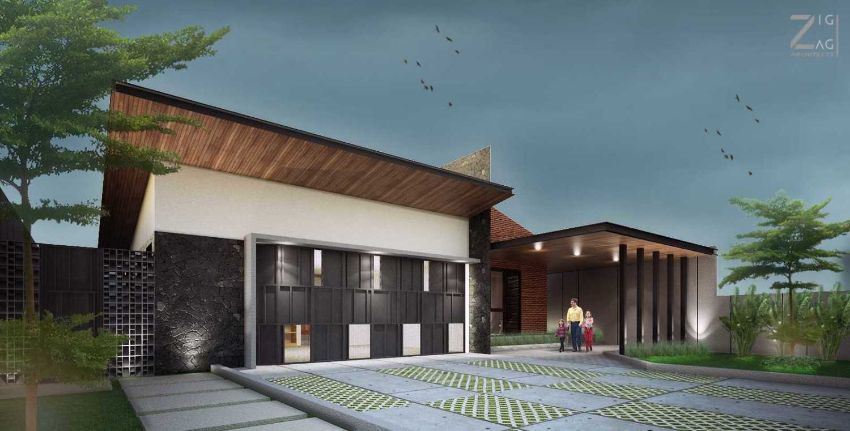 Zigzag Architecture Studio D House - Pekanbaru Pekanbaru, Kota Pekanbaru, Riau, Indonesia Pekanbaru, Kota Pekanbaru, Riau, Indonesia D House Pekanbaru - Entrance Tropis 45569