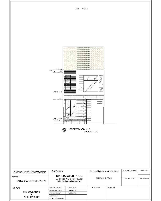 Bingkai Arsitektur Duta Kranji Residence  Kranji, Bekasi Bar., Kota Bks, Jawa Barat, Indonesia Kranji, Bekasi Bar., Kota Bks, Jawa Barat, Indonesia Duta Kranji Residence  40617