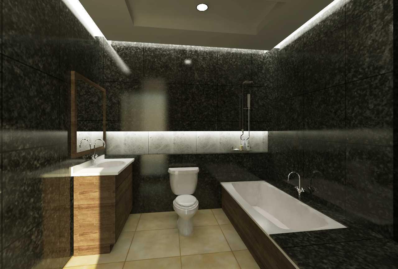 Epicnesia Architect Rumah Tinggal Kediri Kediri, Jawa Timur, Indonesia Kediri, Jawa Timur, Indonesia Bathroom  46963