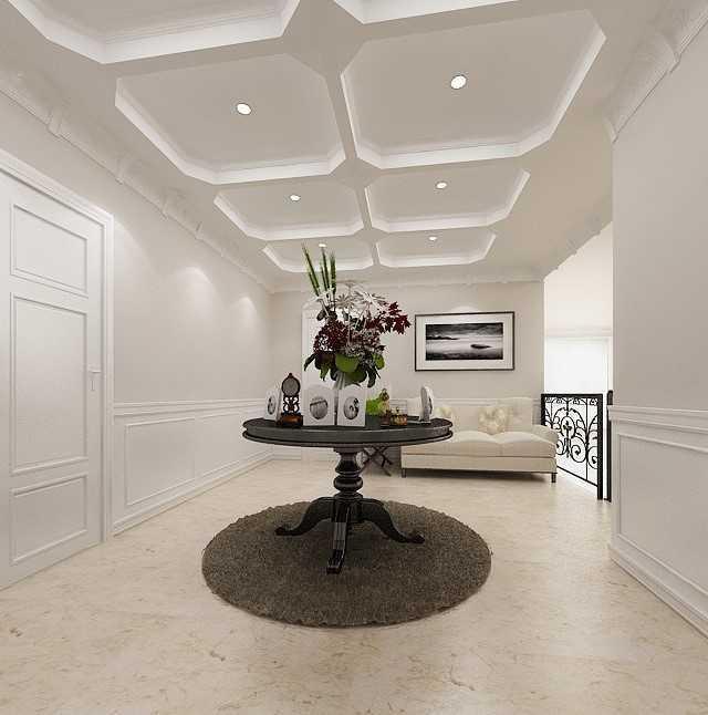 Foto inspirasi ide desain koridor dan lorong klasik Foyer-1copy oleh Kreasi Wirawan Mandiri di Arsitag